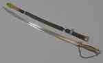 Sword and Scabbard Owned by Captain Daniel Servos- 1778