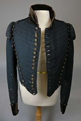Glengarry Light Infantry Fencibles Junior Officer Coatee Believed to have Belonged to Donald McDougald- 1795-1830