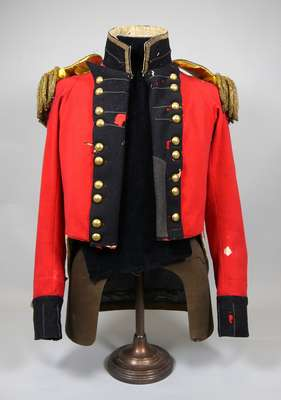 Uniform Coat Belonging to Colonel Aeneas Shaw of the 1st Regiment of the Lincoln Militia- c.1810-1820