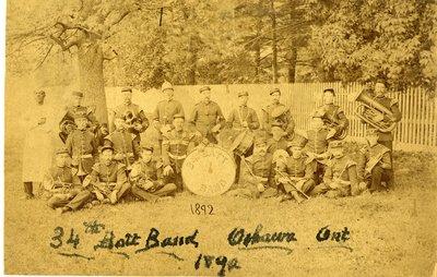 LH2804 34th Battalion Band