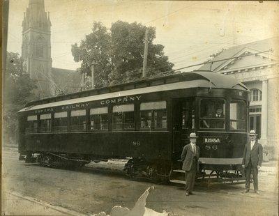 LH2729 Oshawa Railway Company atreetcar