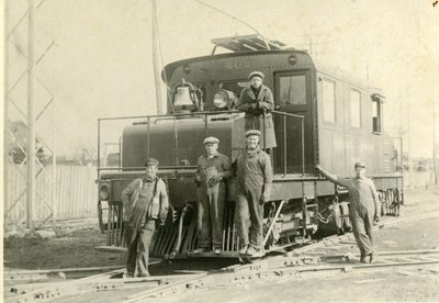 LH2698 Oshawa Railway company - Train