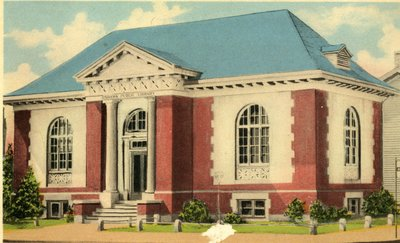 LH2898 Oshawa Library - Carnegie