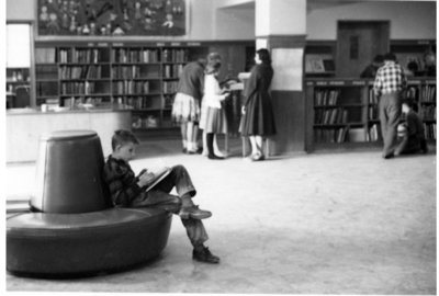 LH2963 Oshawa Public Libraries, McLaughlin Branch: Children's Room, 1954