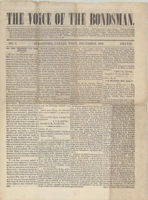 Voice of the Bondsman (1856), 30 Dec 1856