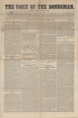 Voice of the Bondsman (1856), 30 Jan 1857