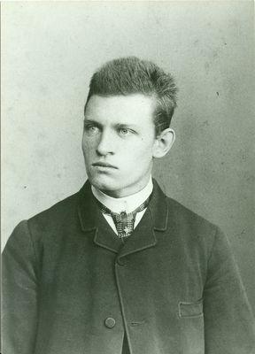 Portrait of Christian Albert Graf