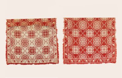 Graf Coverlet - Double Rose Extra Flower Pattern