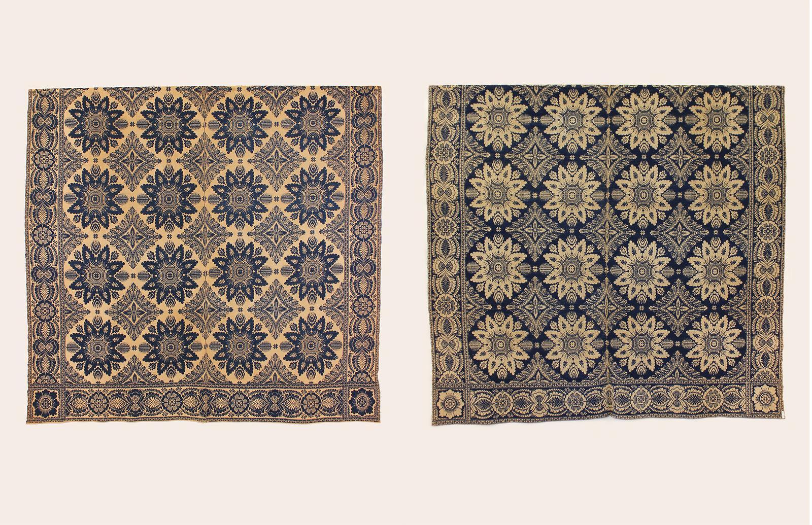 Graf Coverlet - Floral Starburst Pattern
