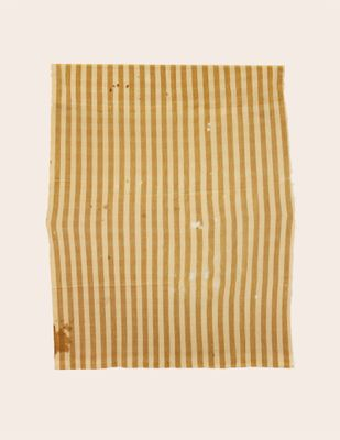Graf Blanket - Tan and Brown Stripe