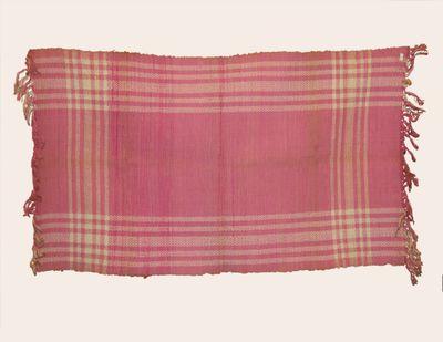 Graf Carpet - Pink and White Plaid