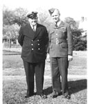 """Einarson, Alvin """"Bill"""" and Einarson, Lloyd - 1940s - Vets WW II  - RP0083"""