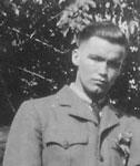 """Meisenheimer, William Embert """"Bert"""" - 1940s - Vet WW II - RP0179"""