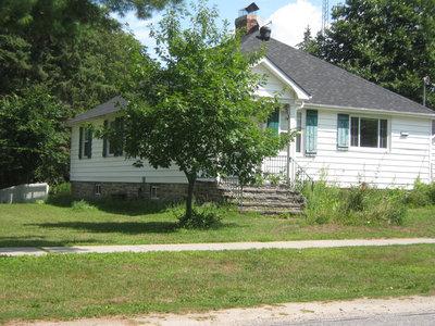 Stonemasonry - #7 Oak Street - formerly Lawson home, Charles home & Irene Harvie home - RI0125