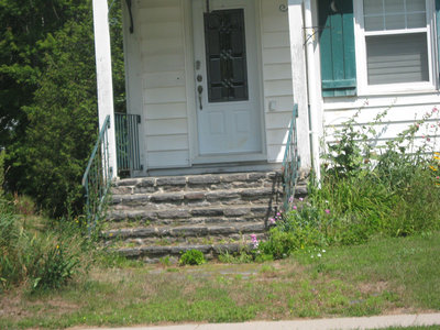 Stonemasonry - #7 Oak Street - formerly Lawson home, Charles home & Irene Harvie home - RI0126