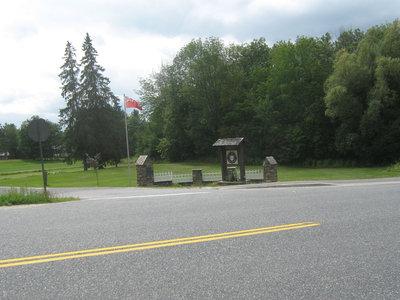 Stonemasonry - #1967 Bright Street - Rosseau Lake College - Front gates - RI0155