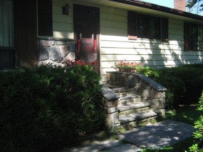 Stonemasonry - #5 Maple Street - formerly the home of Frances Crawford & then Dan & Darlene Fraser - RI0162