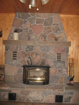 RI0175 - #403 Turtle Lake Road, Rosseau - Dan & Darlene Fraser's fireplace