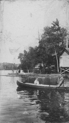 Canoeing on Indian Lake