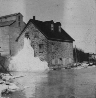 Grist Mill at Bedford Mills