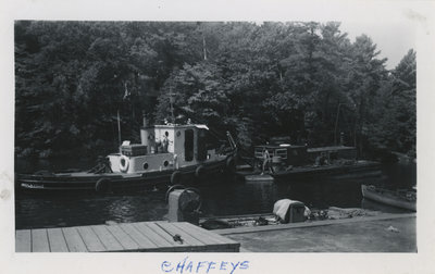 Government Boat Brockville at Chaffey's Lock