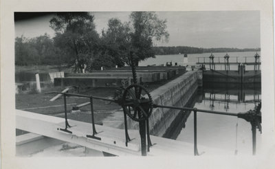 Narrows Lock Circa 1960