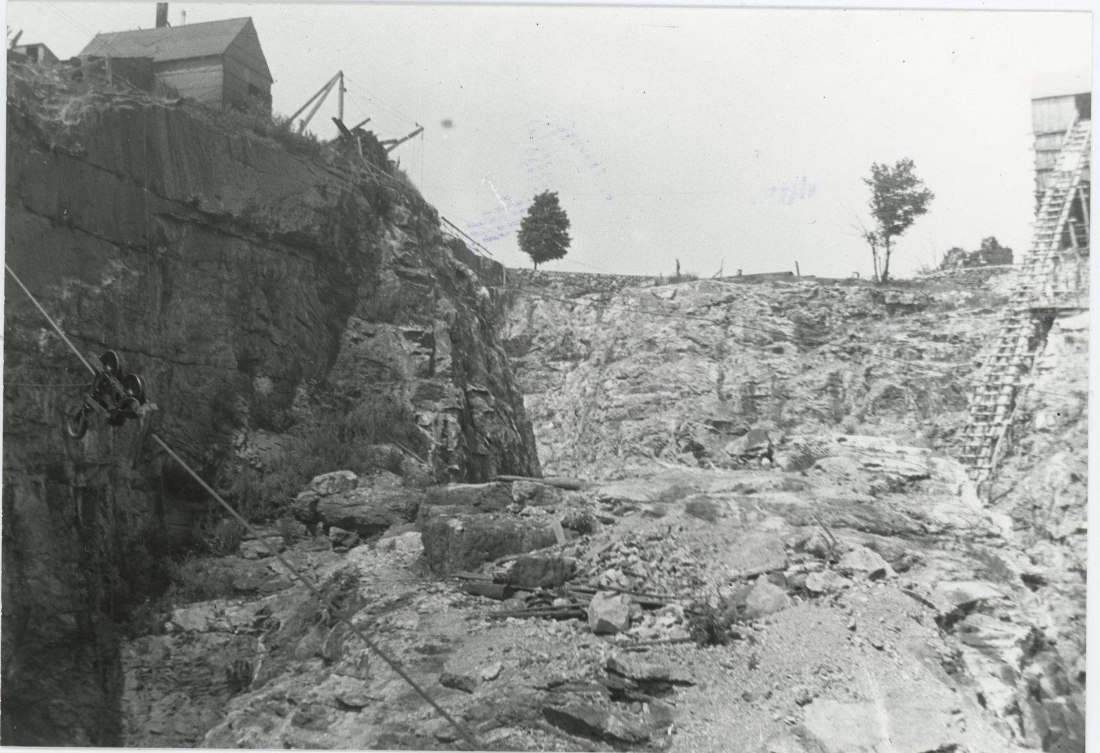 Open Pit Phosphate Mine