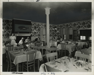Opinicon Hotel Dining Room