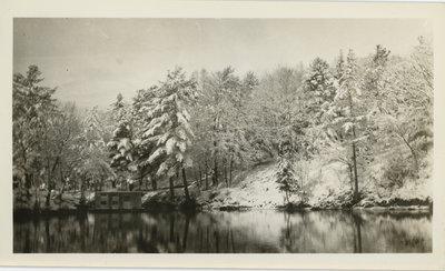 Chaffey's Lock in Winter