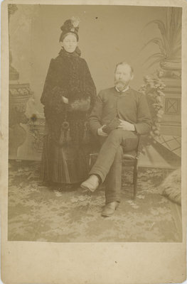 William Bresee and his wife Melinda Stevens Bresee