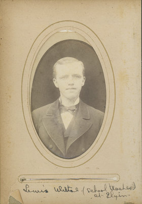 Lewis Wiltse, Elgin teacher