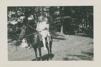 Eileen McFarlane and Vera Judson