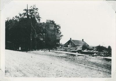 Drummond Street, Newboro, Ontario after the 1922 fire