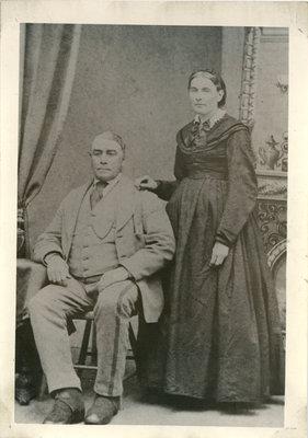Portland Merchant, James Donovan and wife Catherine