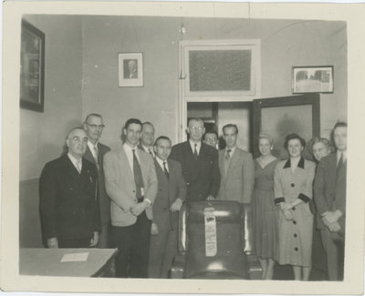 Mr. A.R. Whittier and Office Staff