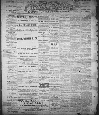 Farmersville Reporter and County of Leeds Advertiser (18840522), 14 Feb 1888