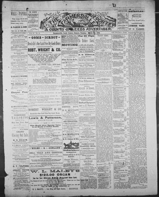 Farmersville Reporter and County of Leeds Advertiser (18840522), 6 Mar 1888