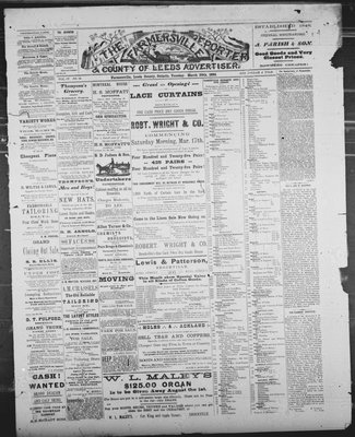 Farmersville Reporter and County of Leeds Advertiser (18840522), 20 Mar 1888