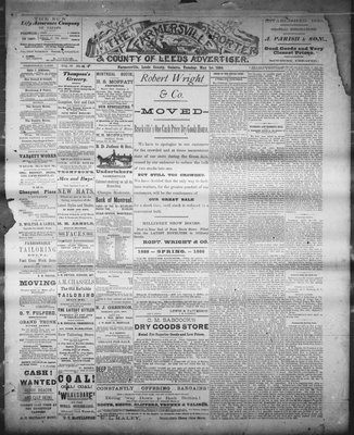 Farmersville Reporter and County of Leeds Advertiser (18840522), 1 May 1888