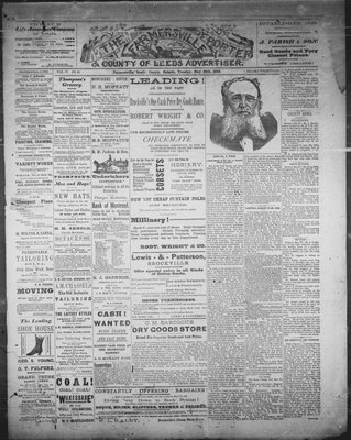 Farmersville Reporter and County of Leeds Advertiser (18840522), 22 May 1888