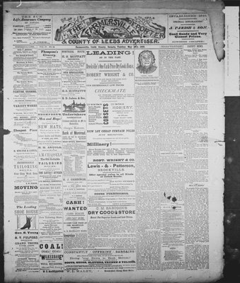 Farmersville Reporter and County of Leeds Advertiser (18840522), 29 May 1888