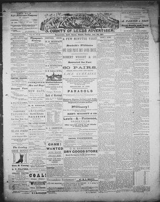 Farmersville Reporter and County of Leeds Advertiser (18840522), 5 Jun 1888