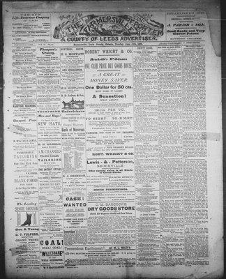 Farmersville Reporter and County of Leeds Advertiser (18840522), 12 Jun 1888