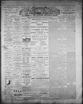 Farmersville Reporter and County of Leeds Advertiser (18840522), 17 Jul 1888