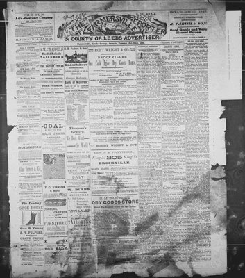 Farmersville Reporter and County of Leeds Advertiser (18840522), 23 Oct 1888