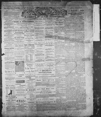 Farmersville Reporter and County of Leeds Advertiser (18840522), 6 Nov 1888