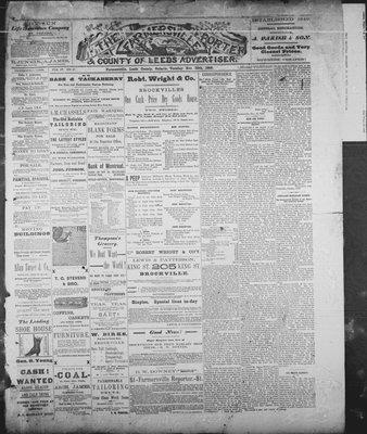 Farmersville Reporter and County of Leeds Advertiser (18840522), 20 Nov 1888