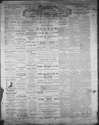 Farmersville Reporter and County of Leeds Advertiser (18840522), 1 Jan 1889