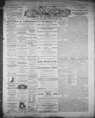 Athens Reporter and County of Leeds Advertiser (18920112), 22 Jan 1889