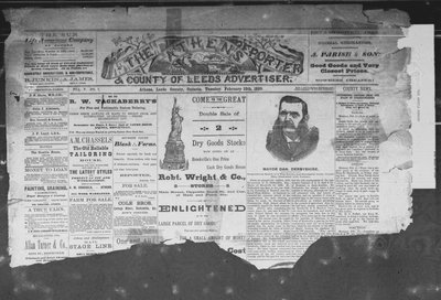 Athens Reporter and County of Leeds Advertiser (18920112), 12 Feb 1889